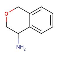 3,4-dihydro-1H-2-benzopyran-4-amine