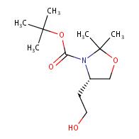 3-Oxazolidinecarboxylicacid, 4-(2-hydroxyethyl)-2,2-dimethyl-, 1,1-dimethylethyl ester, (4S)-