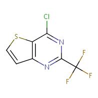 4-chloro-2-(trifluoromethyl)thieno[3,2-d]pyrimidine