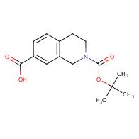 2-[(tert-butoxy)carbonyl]-1,2,3,4-tetrahydroisoquinoline-7-carboxylic acid