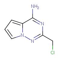 2-(chloromethyl)pyrrolo[2,1-f][1,2,4]triazin-4-amine
