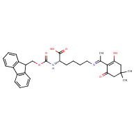 (2S)-2-(9H-fluoren-9-ylmethoxycarbonylamino)-6-[1-(2-hydroxy-4,4-dimethyl-6-oxocyclohexen-1-yl)ethylideneamino]hexanoic acid