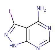 3-iodo-1H-pyrazolo[3,4-d]pyrimidin-4-amine