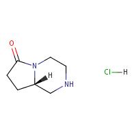 (8aS)-octahydropyrrolo[1,2-a]piperazin-6-one hydrochloride
