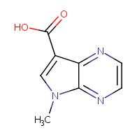 5-methyl-5H-pyrrolo[2,3-b]pyrazine-7-carboxylic acid