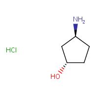 (1S,3S)-3-aminocyclopentan-1-ol hydrochloride
