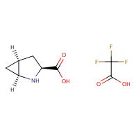 (1s,3s,5s)-2-azabicyclo[3.1.0]hexane-3-carboxylic acid trifluoro acetate