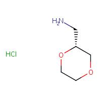 (2R)-1,4-dioxan-2-ylmethanamine hydrochloride