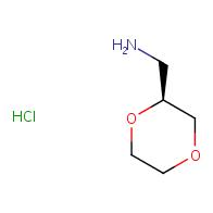 (2S)-1,4-dioxan-2-ylmethanamine hydrochloride