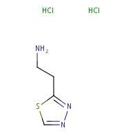2-(1,3,4-thiadiazol-2-yl)ethan-1-amine dihydrochloride