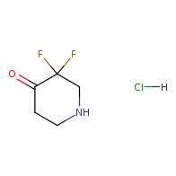 3,3-Difluoro-4-piperidinone hydrochloride