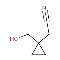 2-(1-(Hydroxymethyl)cyclopropyl)acetonitrile