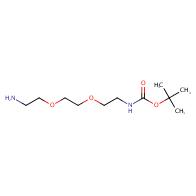 Boc-NH-PEG2-C2-NH2