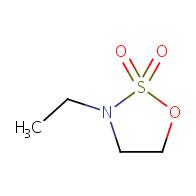 1,2,3-oxathiazolidine,3-ethyl-,2,2-dioxide