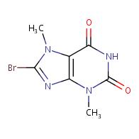 8-bromo-3,7-dimethyl-3,7-dihydro-1H-purine-2,6-dione