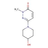 6-(4-hydroxypiperidin-1-yl)-2-methylpyridazin-3(2H)-one