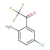 1-(2-amino-5-chlorophenyl)-2,2,2-trifluoroethanone