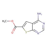 methyl 4-aminothieno[2,3-d]pyrimidine-6-carboxylate