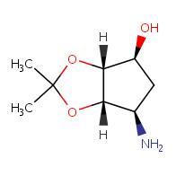 (3aR,4S,6R,6aS)-6-amino-2,2-dimethyl-hexahydrocyclopenta[d][1,3]dioxol-4-ol