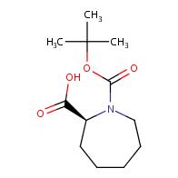 (2s)-1-[(tert-butoxy)carbonyl]azepane-2-carboxylic acid
