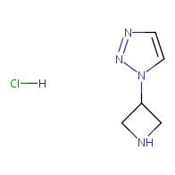 1-(3-Azetidinyl)-1,2,3-triazole Hydrochloride