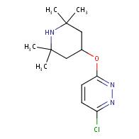 3-chloro-6-(2,2,6,6-tetramethylpiperidin-4-yl)oxypyridazine