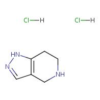 4,5,6,7-tetrahydro-1H-pyrazolo[4,3-c]pyridine dihydrochloride