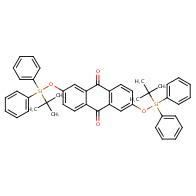 2,6-Bis((tert-butyldiphenylsilyl)oxy)anthracene-9,10-dione