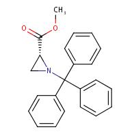 methyl (R)-1-tritylaziridine-2-carboxylate