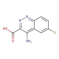 4-Amino-6-fluorocinnoline-3-carboxylic acid