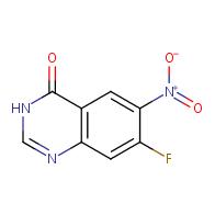 7-fluoro-6-nitro-3H-quinazolin-4-one