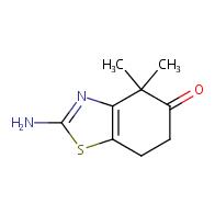 2-amino-4,4-dimethyl-4,5,6,7-tetrahydro-1,3-benzothiazol-5-one
