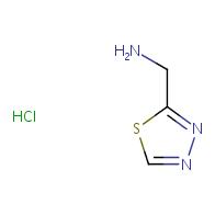 1,3,4-thiadiazol-2-ylmethanamine hydrochloride