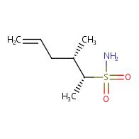 (2R,3S)-3-methylhex-5-ene-2-sulfonamide