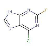 6-chloro-2-fluoro-9H-purine