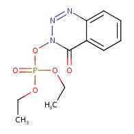 Diethyl (4-oxobenzo[d][1,2,3]-triazin-3(4H)-yl) phosphate
