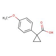 1-(4-methoxyphenyl)cyclopropanecarboxylic acid