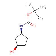 tert-butyl N-[(1S,3R)-3-hydroxycyclopentyl]carbamate