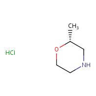 (2R)-2-methylmorpholine hydrochloride