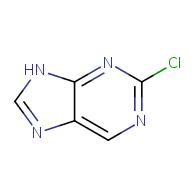 2-chloro-9H-purine