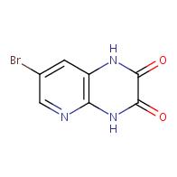 7-bromo-1,4-dihydropyrido[2,3-b]pyrazine-2,3-dione