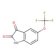 5-(trifluoromethoxy)indoline-2,3-dione