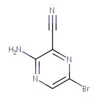 3-amino-6-bromopyrazine-2-carbonitrile