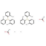 trans-Di(μ-acetato)bis[o-(di-o-tolylphosphino)benzyl]dipalladium(II)
