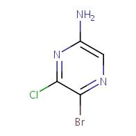 5-bromo-6-chloropyrazin-2-amine