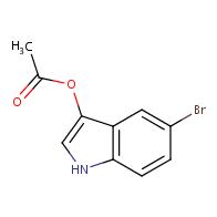 5-Bromo-1H-indol-3-yl acetate