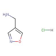 Isoxazol-4-ylmethanamine hydrochloride