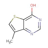 4-Hydroxy-7-methylthieno[3,2-d]pyrimidine