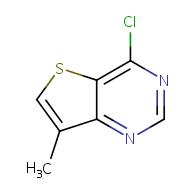 4-chloro-7-methylthieno[3,2-d]pyrimidine