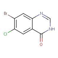 7-bromo-6-chloro-3,4-dihydroquinazolin-4-one